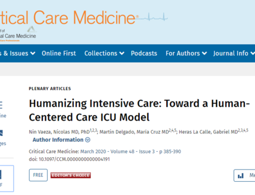 Humanizing Intensive Care: Toward a HumanCentered Care ICU Model