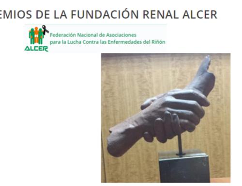 Reconocimiento Social 2020 Premios Fundación renal ALCER