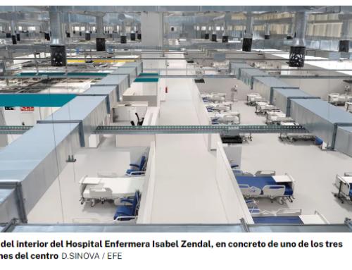Un hospital muy poco hospitalario